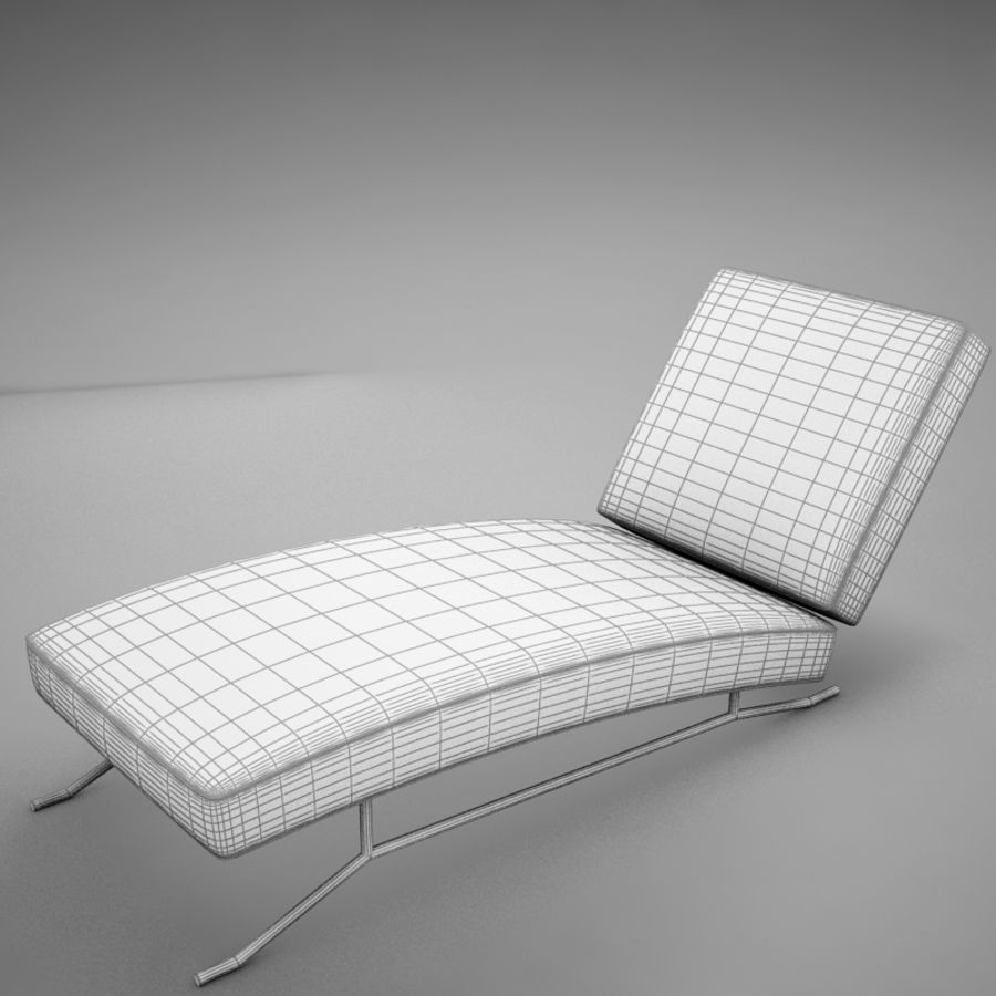 lounge chair02 royalty-free 3d model - Preview no. 18