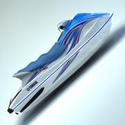 jetski_3ds 3d model