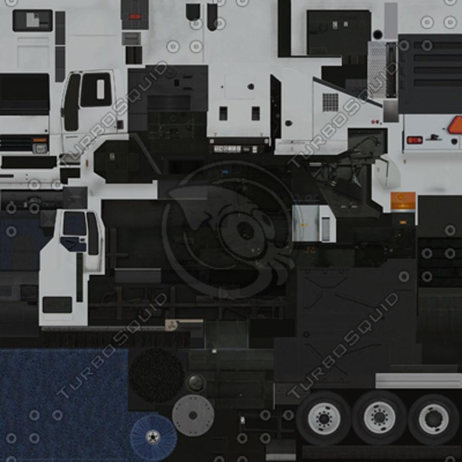 低多边形垃圾车 royalty-free 3d model - Preview no. 2