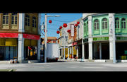 Shophouses 3d model