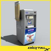máquina de sorvete 3d model