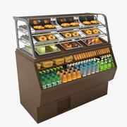 Food Merchandiser - Vray material 3d model