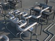 Industrial unit 1 3d model