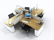 OFFICE TABLES V1 3d model