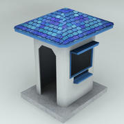 security guard house 3d model