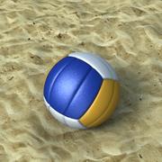 3D Volleyboll modell 3d model