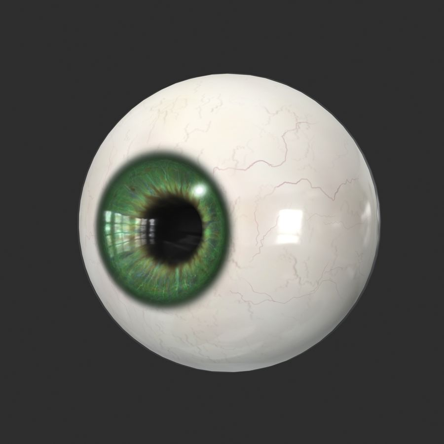 Menschliches Auge royalty-free 3d model - Preview no. 4