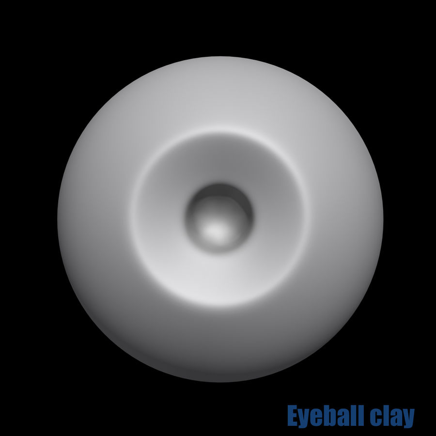 Menschliches Auge royalty-free 3d model - Preview no. 8