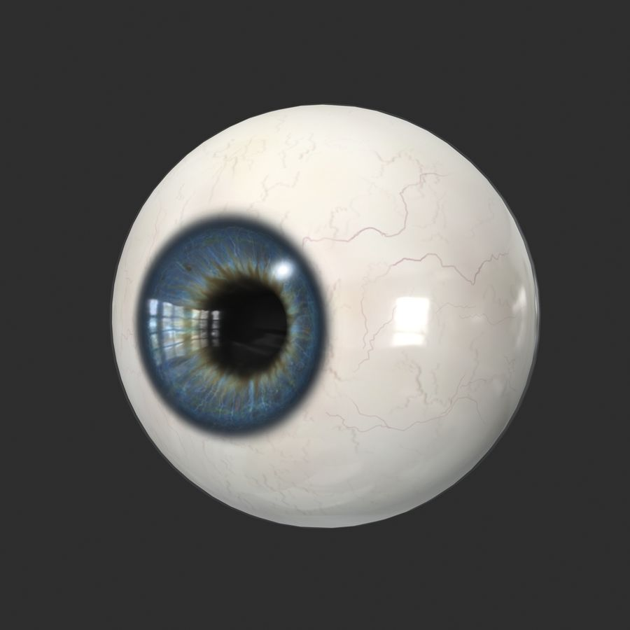 Menschliches Auge royalty-free 3d model - Preview no. 3