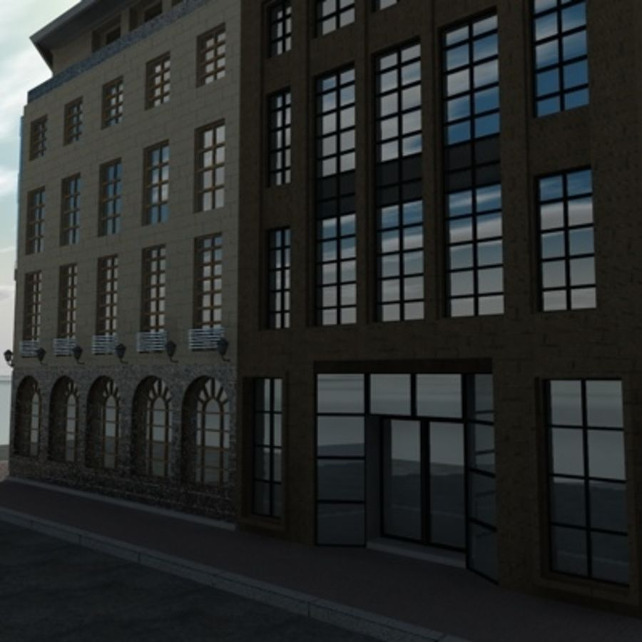 architecture royalty-free 3d model - Preview no. 5
