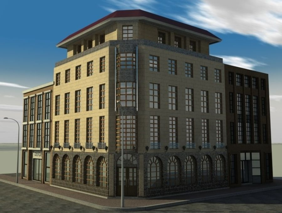 architecture royalty-free 3d model - Preview no. 1