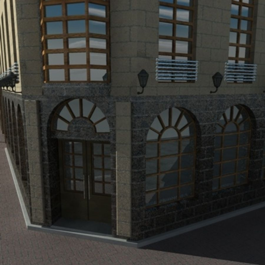 architecture royalty-free 3d model - Preview no. 4
