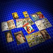 Serier, tidskrifter och böcker 01 3d model
