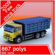 2009 FAW china Truck 3d model
