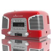 Stéréo rétro 3d model