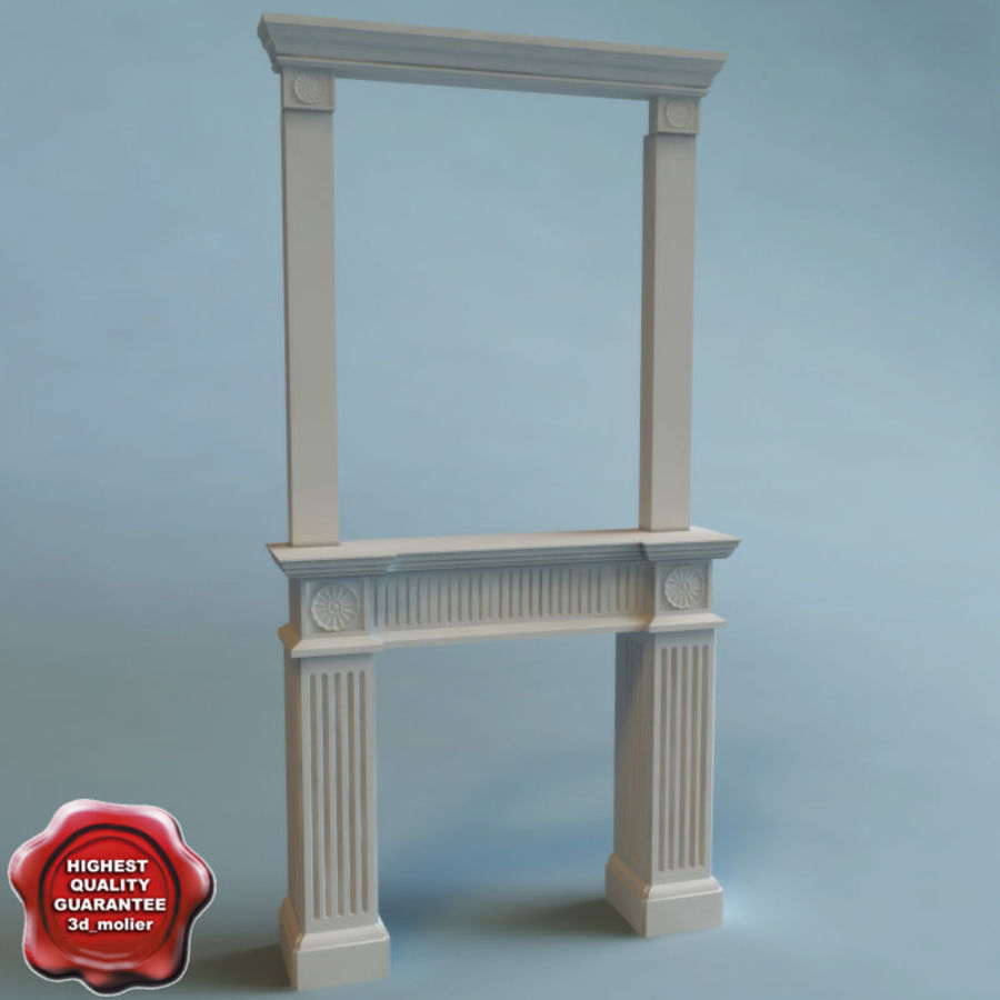 Mantel royalty-free 3d model - Preview no. 1
