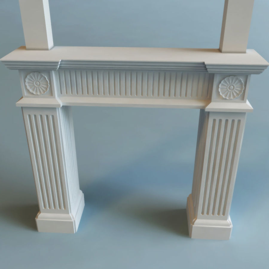 Mantel royalty-free 3d model - Preview no. 3