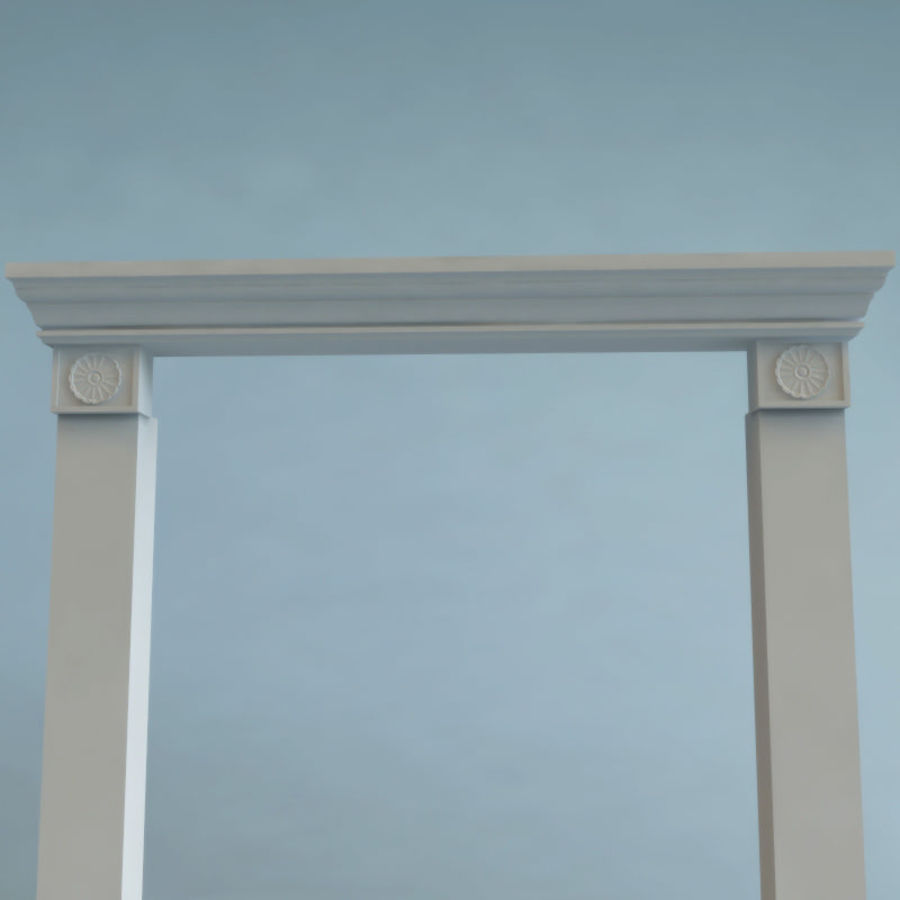 Mantel royalty-free 3d model - Preview no. 4