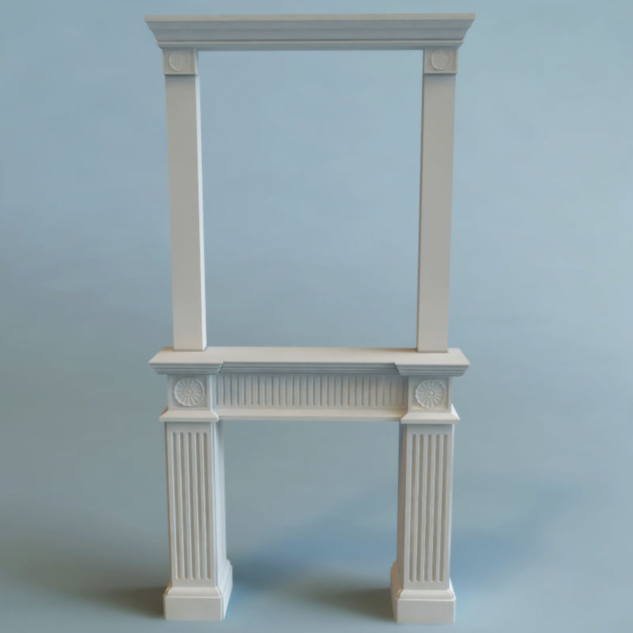 Mantel royalty-free 3d model - Preview no. 2