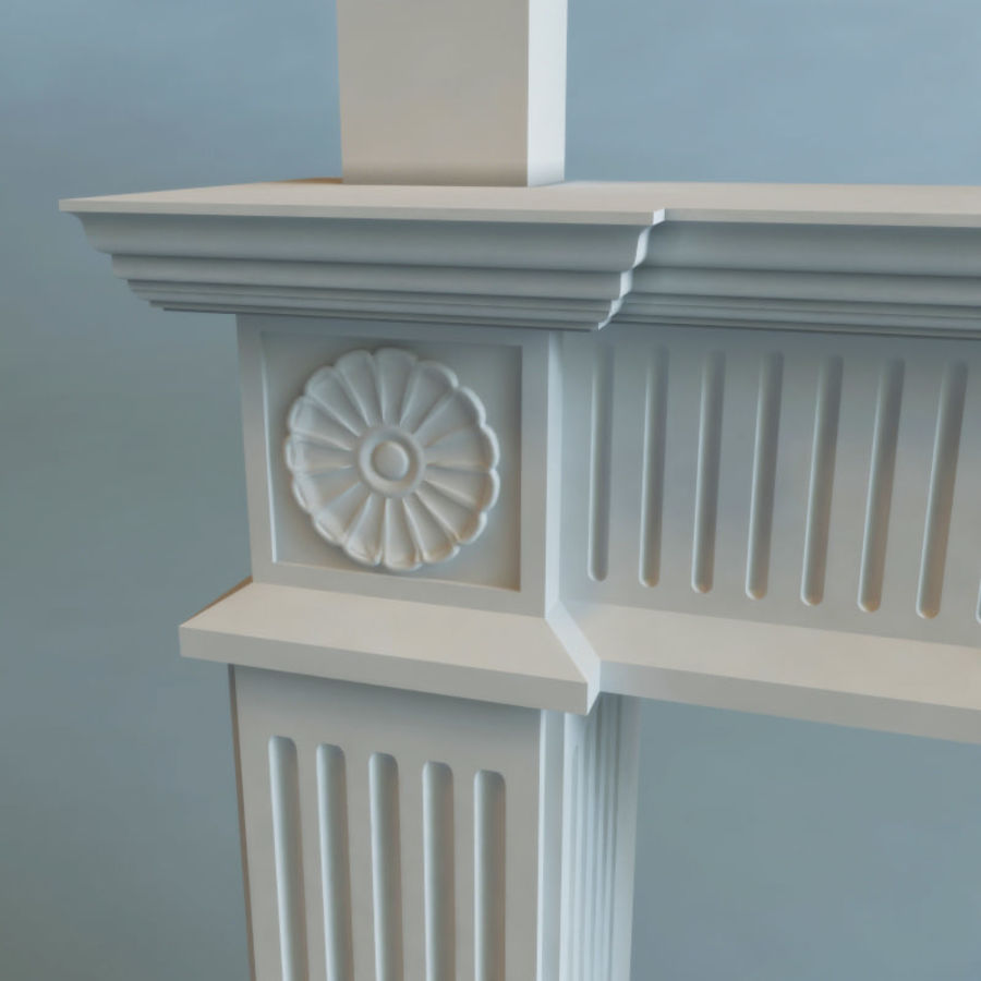 Mantel royalty-free 3d model - Preview no. 6