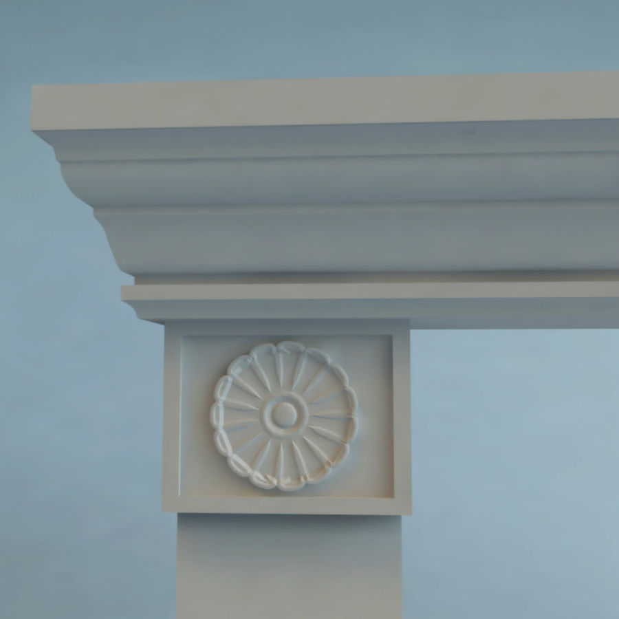 Mantel royalty-free 3d model - Preview no. 5