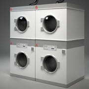 Public Laundry Machine II 3d model