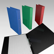 two-ring binder 3d model
