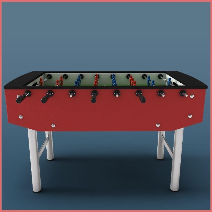 Настольный футбол royalty-free 3d model - Preview no. 3