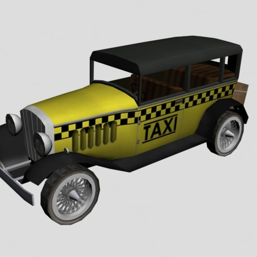 Cunningham Oldtimer 1929 royalty-free 3d model - Preview no. 9