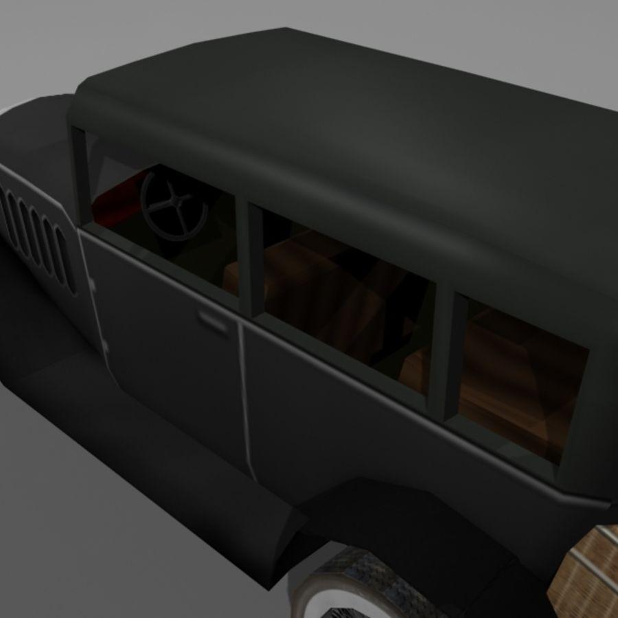 Cunningham Oldtimer 1929 royalty-free 3d model - Preview no. 7