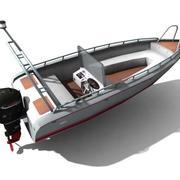 HP 562船 3d model