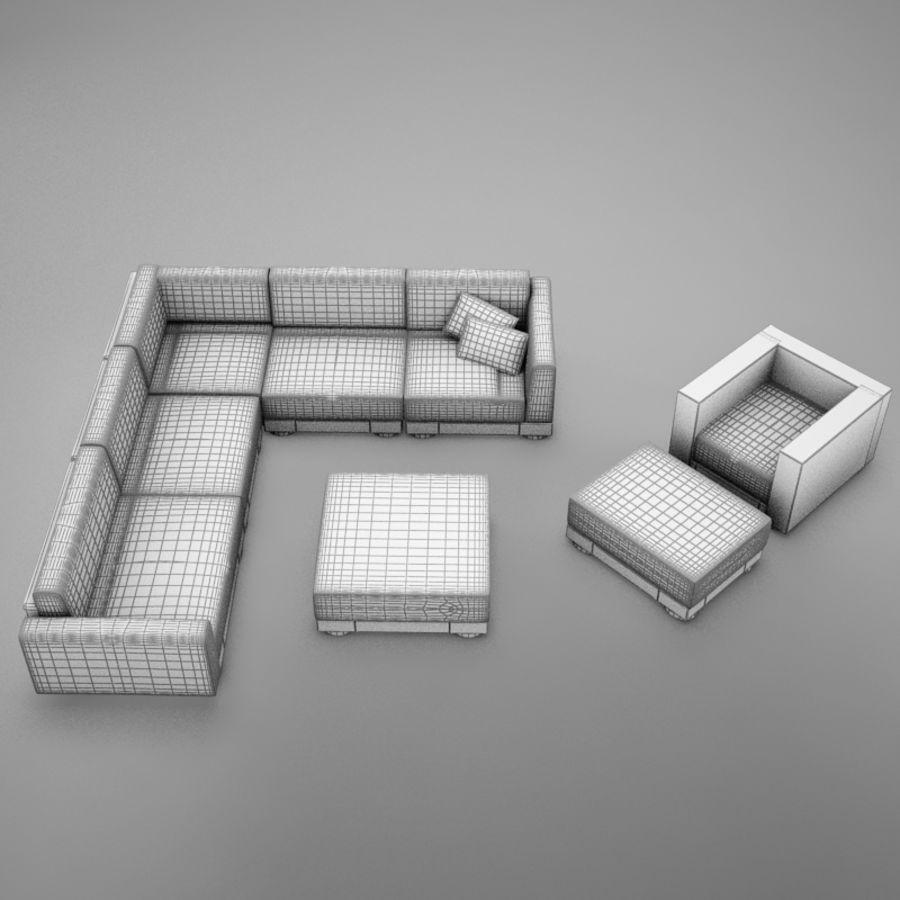kanepe veranda 4 royalty-free 3d model - Preview no. 20