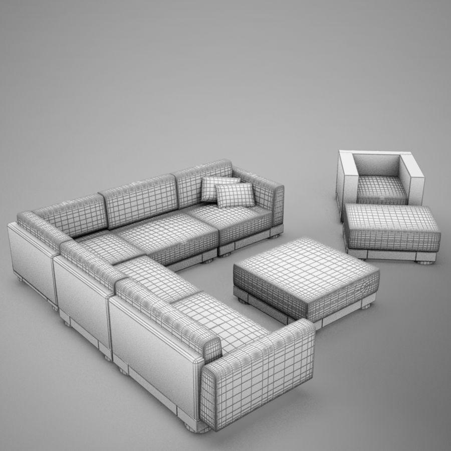 kanepe veranda 4 royalty-free 3d model - Preview no. 18