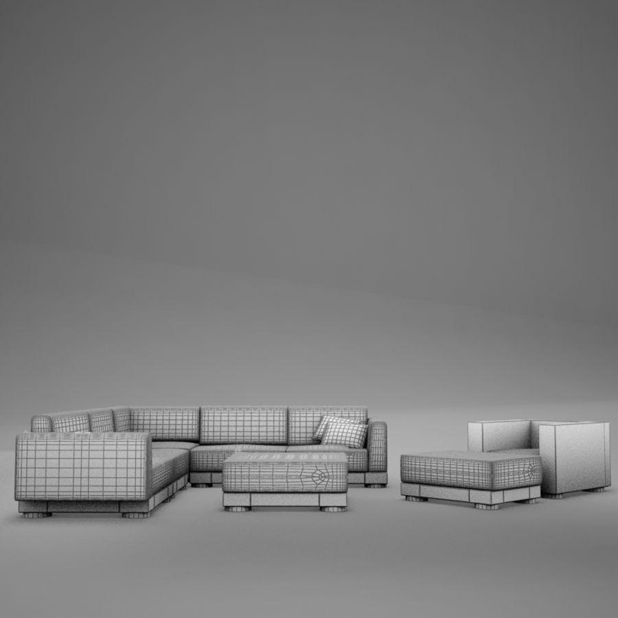 kanepe veranda 4 royalty-free 3d model - Preview no. 17
