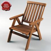 Bahçe Sandalyesi 3d model