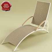Deck-chair V2 3d model