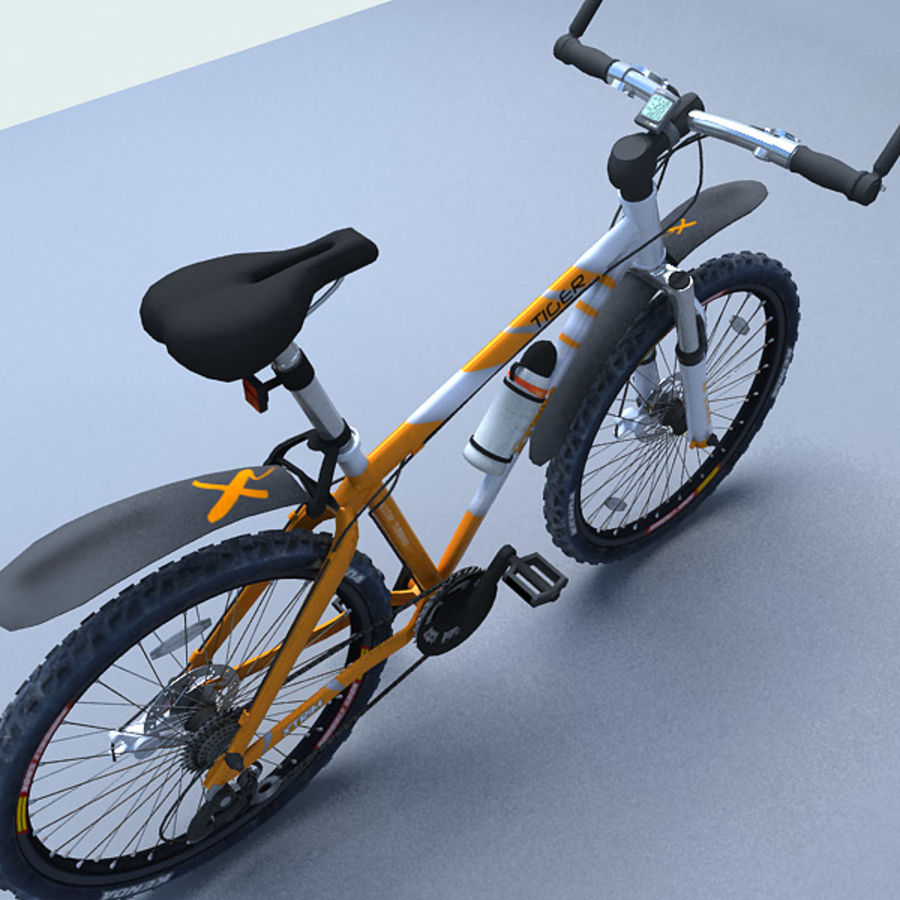 mountain bike royalty-free 3d model - Preview no. 4