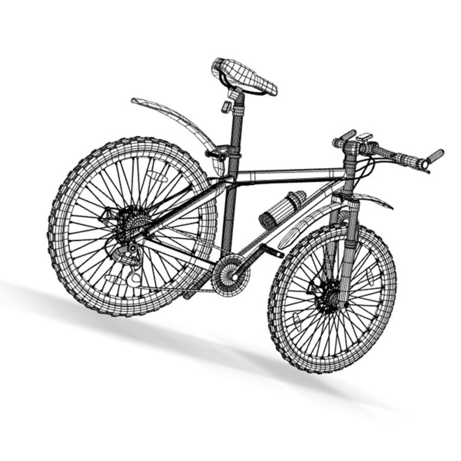mountain bike royalty-free 3d model - Preview no. 9