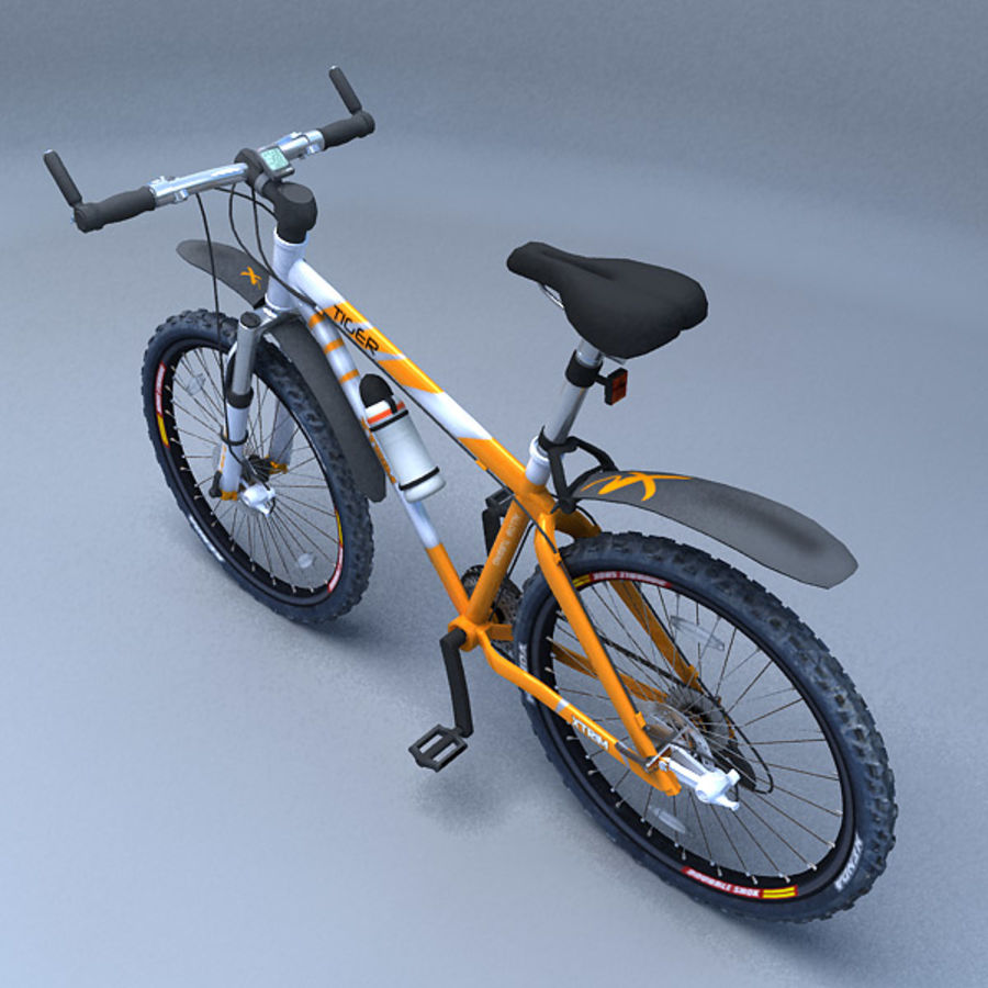 mountain bike royalty-free 3d model - Preview no. 3