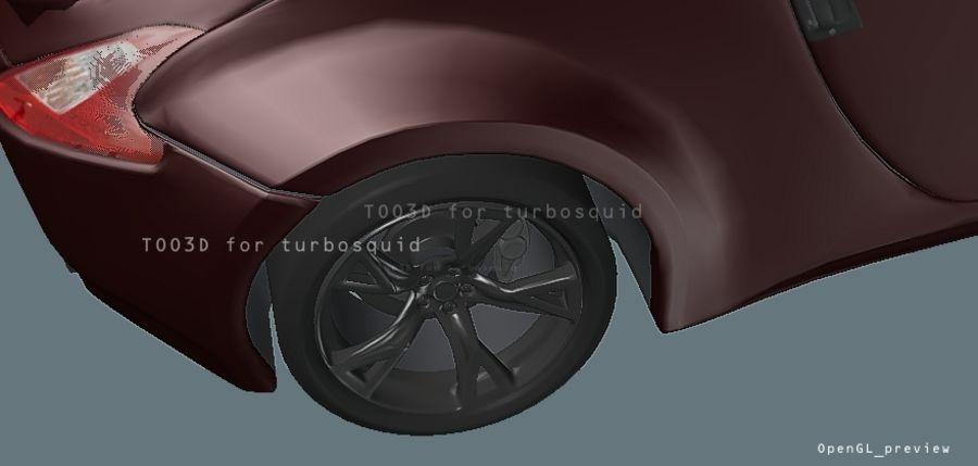 370Z NISSAN royalty-free 3d model - Preview no. 4