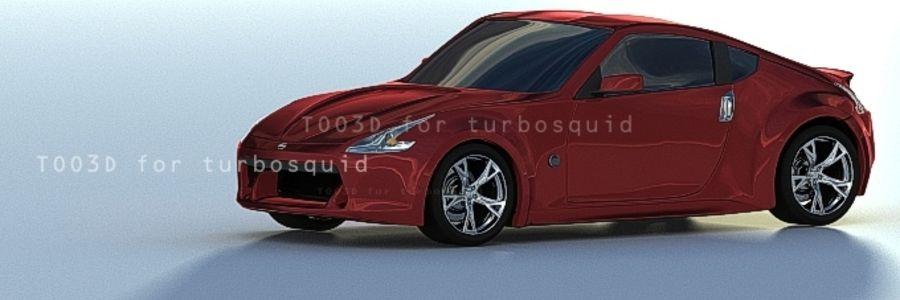 370Z NISSAN royalty-free 3d model - Preview no. 2