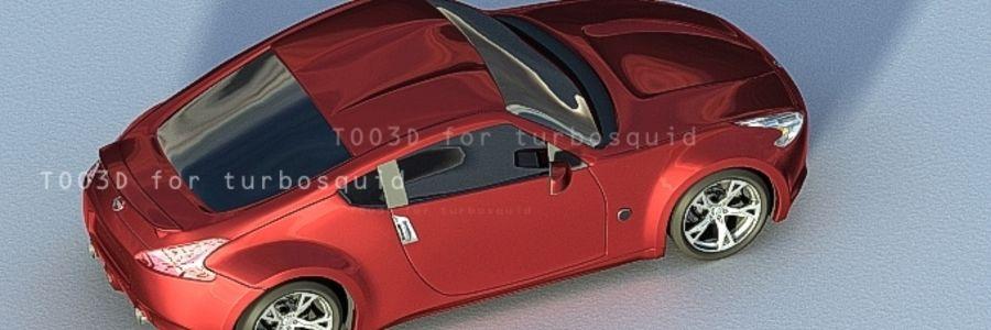 370Z NISSAN royalty-free 3d model - Preview no. 5