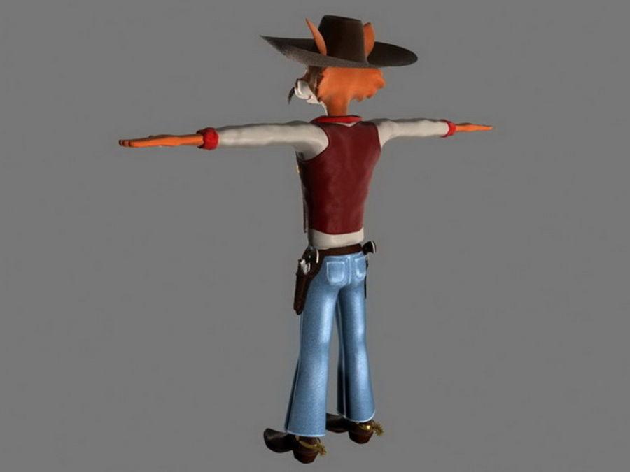 FOX MAN royalty-free 3d model - Preview no. 7
