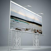 Billboard IV 3d model