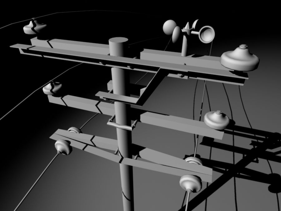 Antenne di comunicazione royalty-free 3d model - Preview no. 9