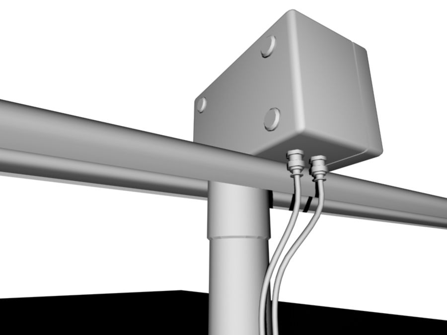 Antenne di comunicazione royalty-free 3d model - Preview no. 6