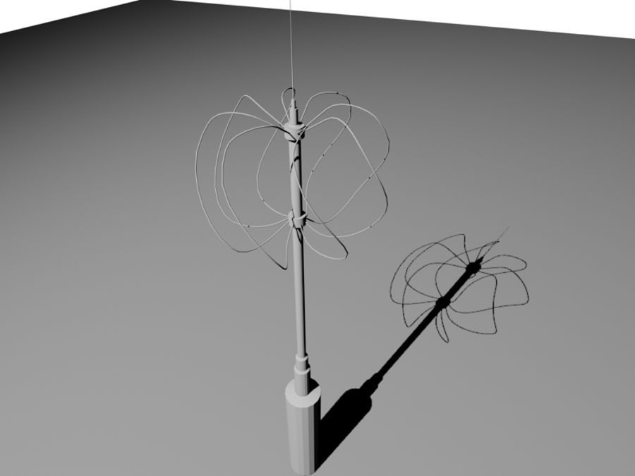 Antenne di comunicazione royalty-free 3d model - Preview no. 10