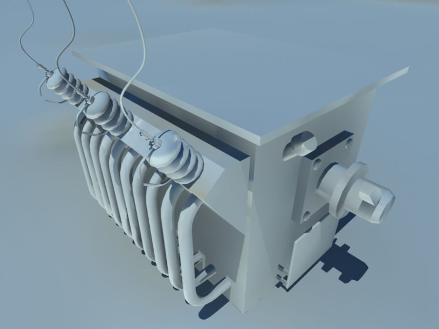 Communicatie Antennes royalty-free 3d model - Preview no. 11