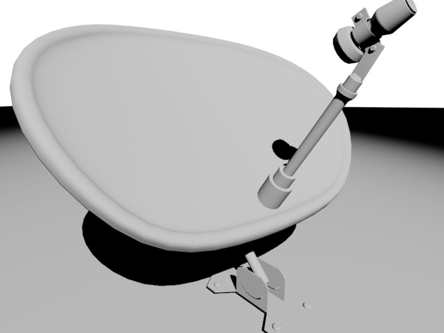 Antenne di comunicazione royalty-free 3d model - Preview no. 7