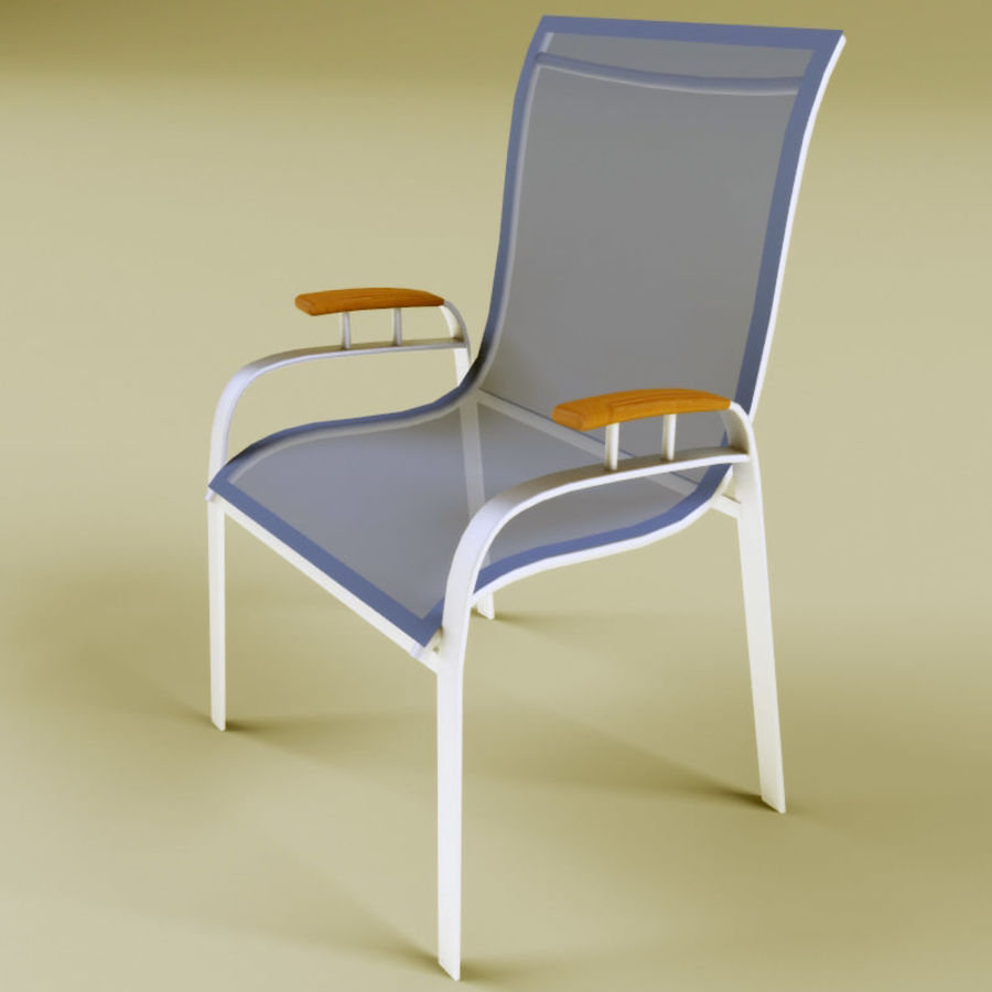 Garden furniture collection royalty-free 3d model - Preview no. 6